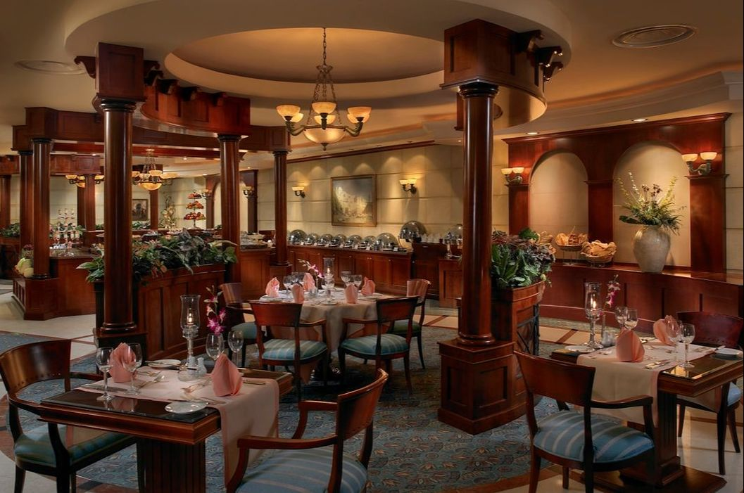 Dinning at Carlton Palace Hotel in Dubai